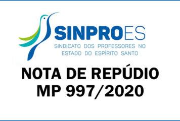 Nota de Repúdio – MP 927/2020