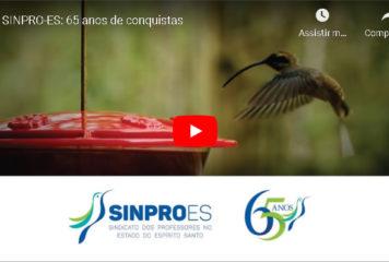 SINPRO-ES: 65 anos de conquistas