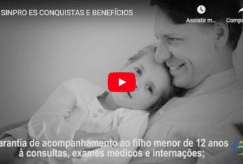 SINPRO/ES Conquistas e Benefícios