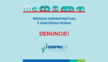 MEDIDAS ADMINISTRATIVAS E SANITÁRIAS GERAIS