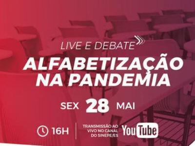 LIVE E DEBATE – ALFABETIZAÇÃO NA PANDEMIA
