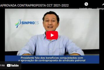 APROVADA CONTRAPROPOSTA CCT 2021-2022
