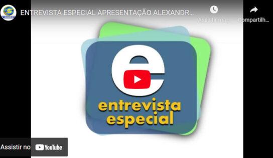 ENTREVISTA ESPECIAL APRESENTAÇÃO ALEXANDRE VALIM – COM JONAS RODRIGUES DE PAULA